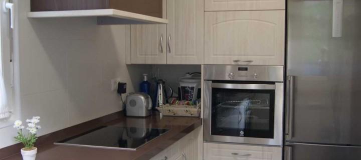 Muebles de cocina en PVC